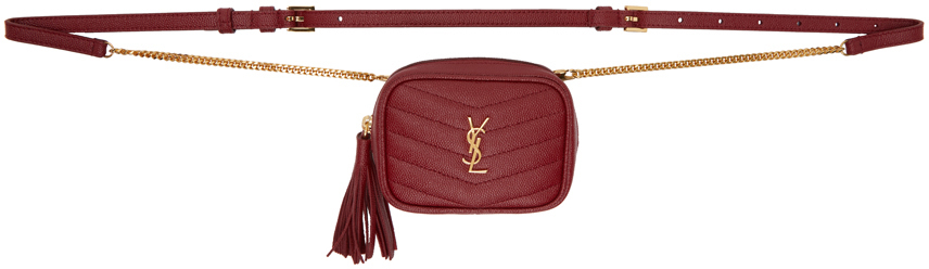 Red Baby Lou Belt Bag