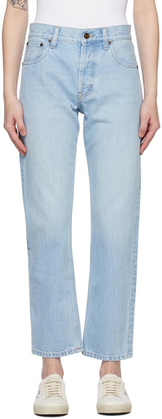 Saint Laurent 蓝色 Authentic 牛仔裤
