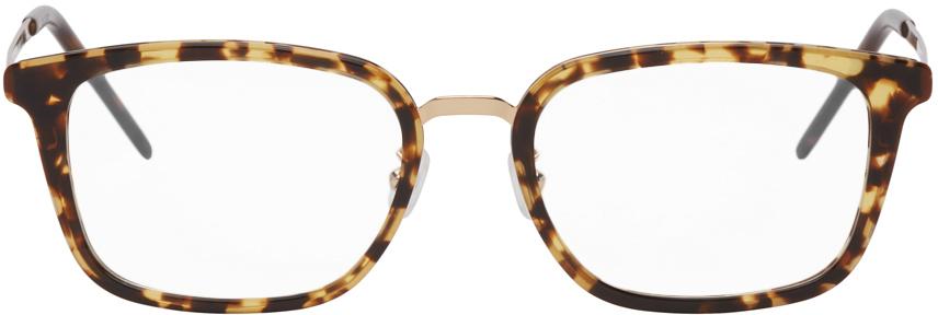 Gold & Tortoiseshell SL 452 F Slim Glasses