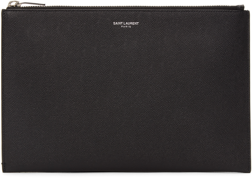 Black Mini Tablet Holder Pouch