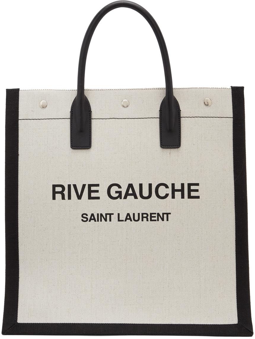 Off-White & Black 'Rive Gauche' Tote