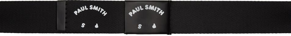 PS by Paul Smith ブラック ロゴ ベルト