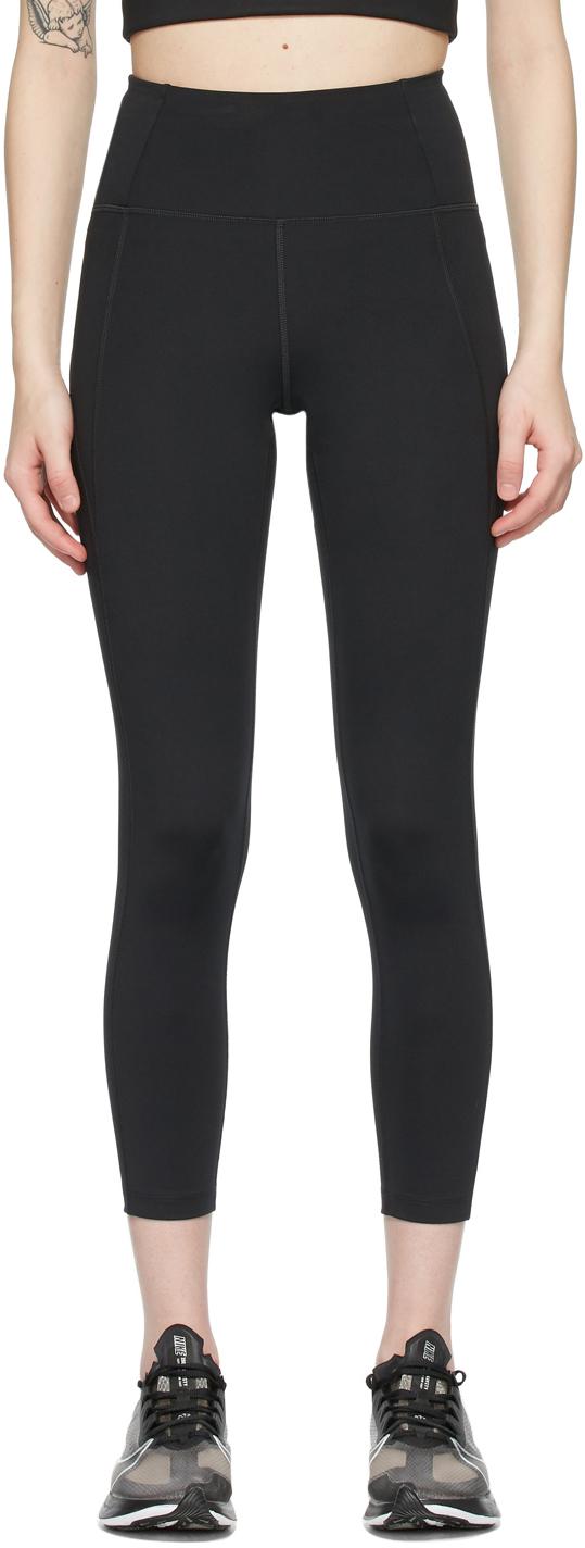 Black High-Rise Compressive Leggings