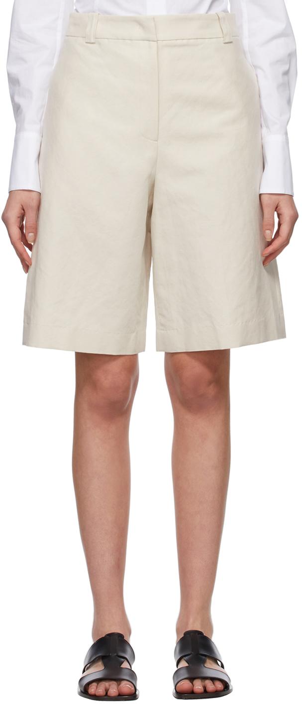 LVIR 灰白色高腰百慕大短裤