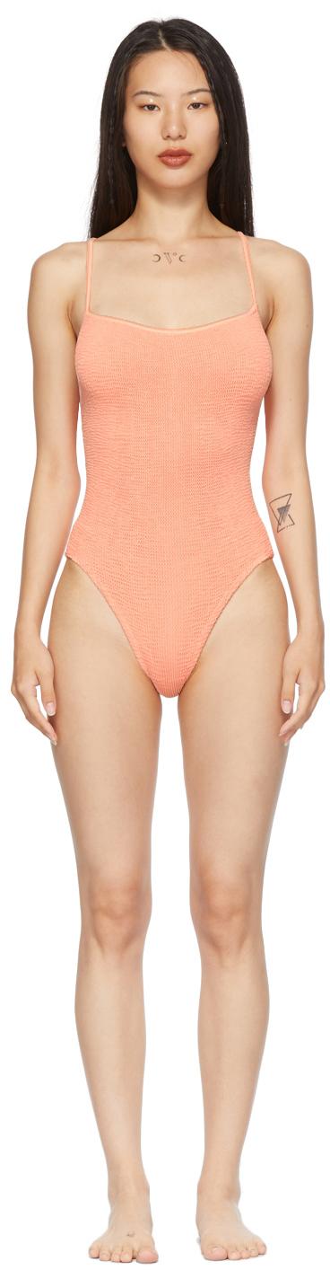 Orange Pamela One-Piece Swimsuit
