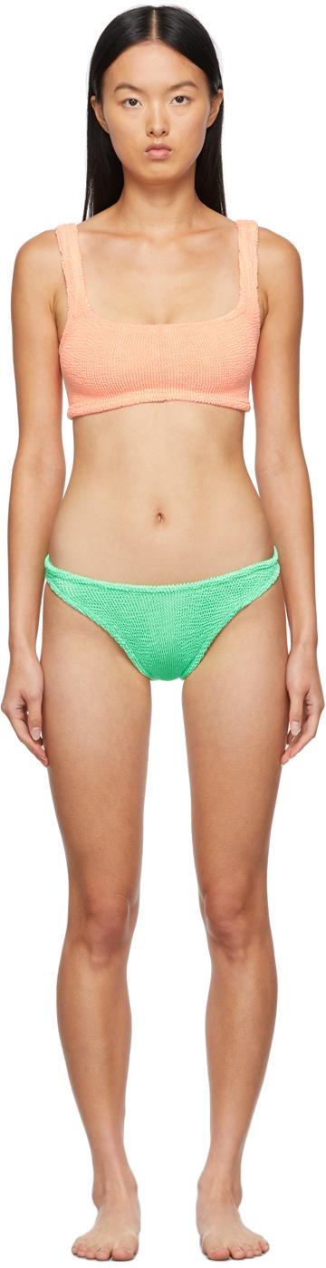 SSENSE Exclusive Orange & Green Xandra Bikini