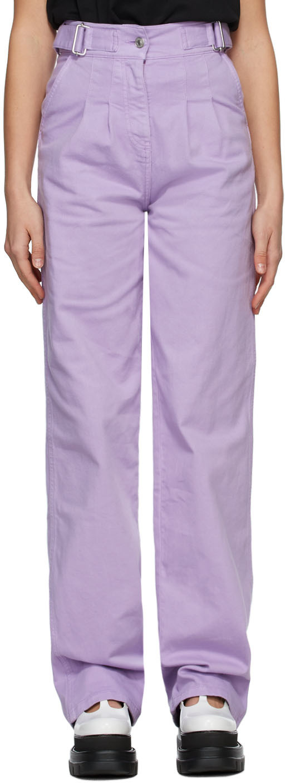 Purple Baggy Jeans