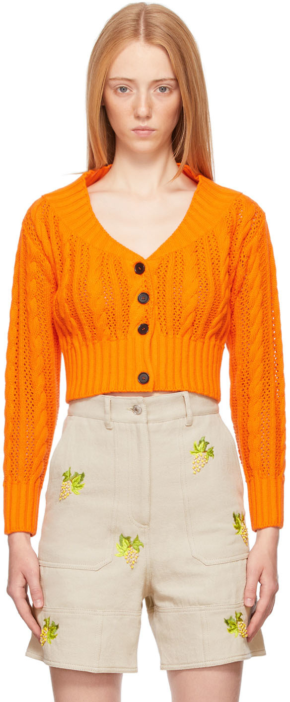 Orange Crop Cardigan