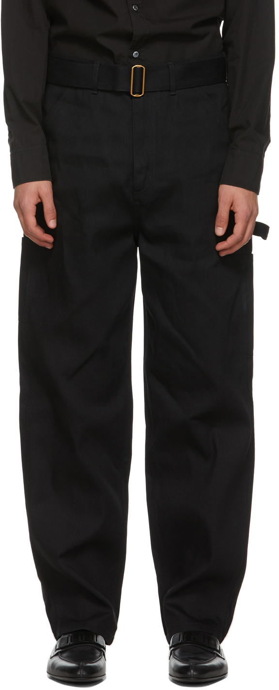 Dunhill 黑色 Utility 牛仔裤