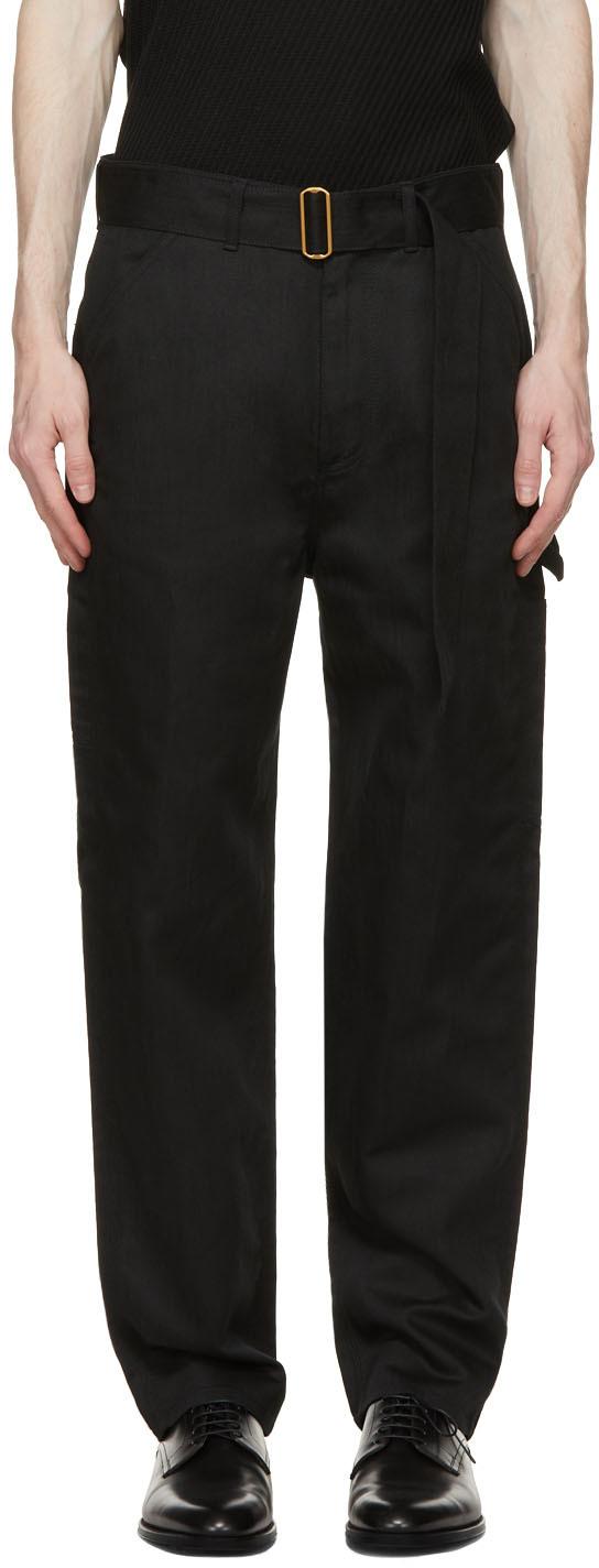 Dunhill 黑色 Carpenter 长裤