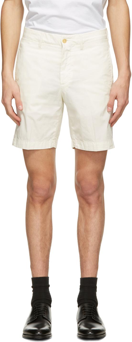Dunhill 灰白色百慕大短裤