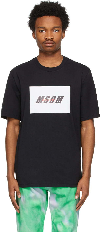 Black Active Logo T-Shirt