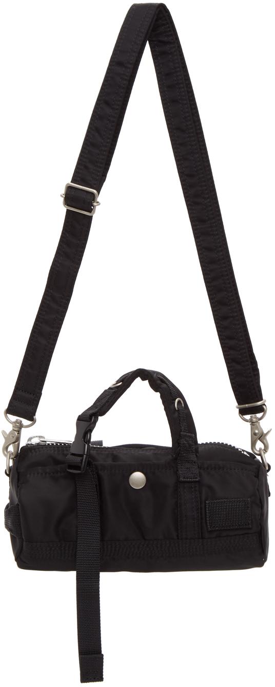 Black Mini Crossbody Duffle Bag