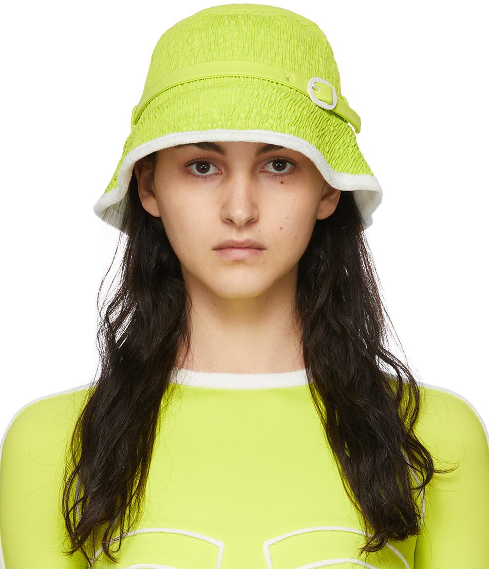 Green Coral Beach Hat