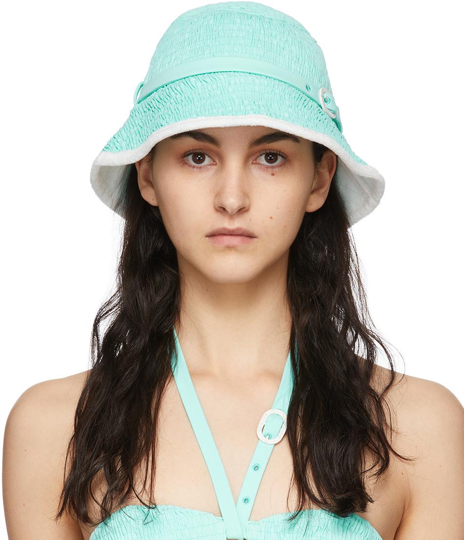 Blue Coral Beach Hat