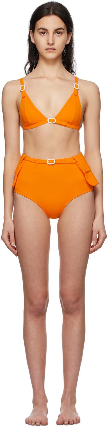 Orange Jackie Bikini