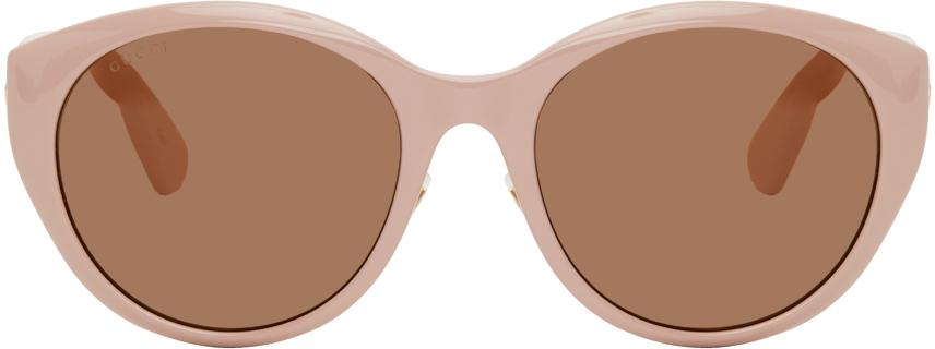 Gucci 粉色猫眼太阳镜