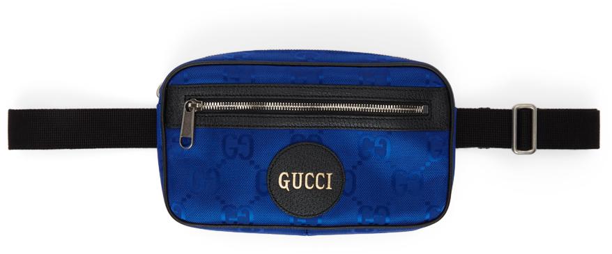 Blue Off The Grid Belt Bag
