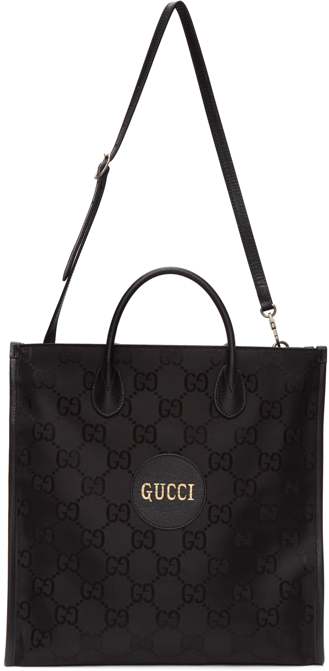 Black Off The Grid Long GG Tote