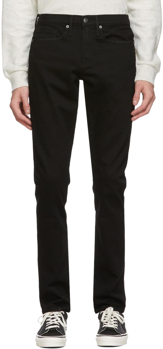 Black L'Homme Slim Jeans