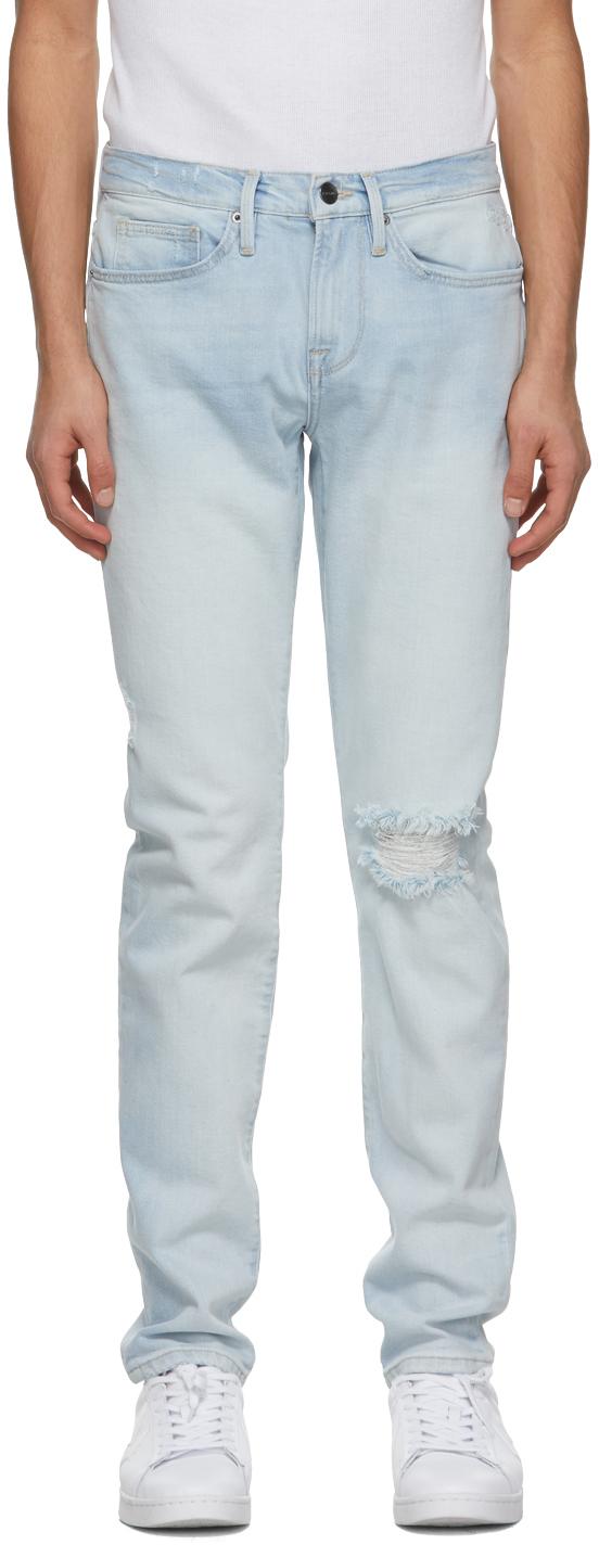 Blue 'L'Homme Skinny' Jeans