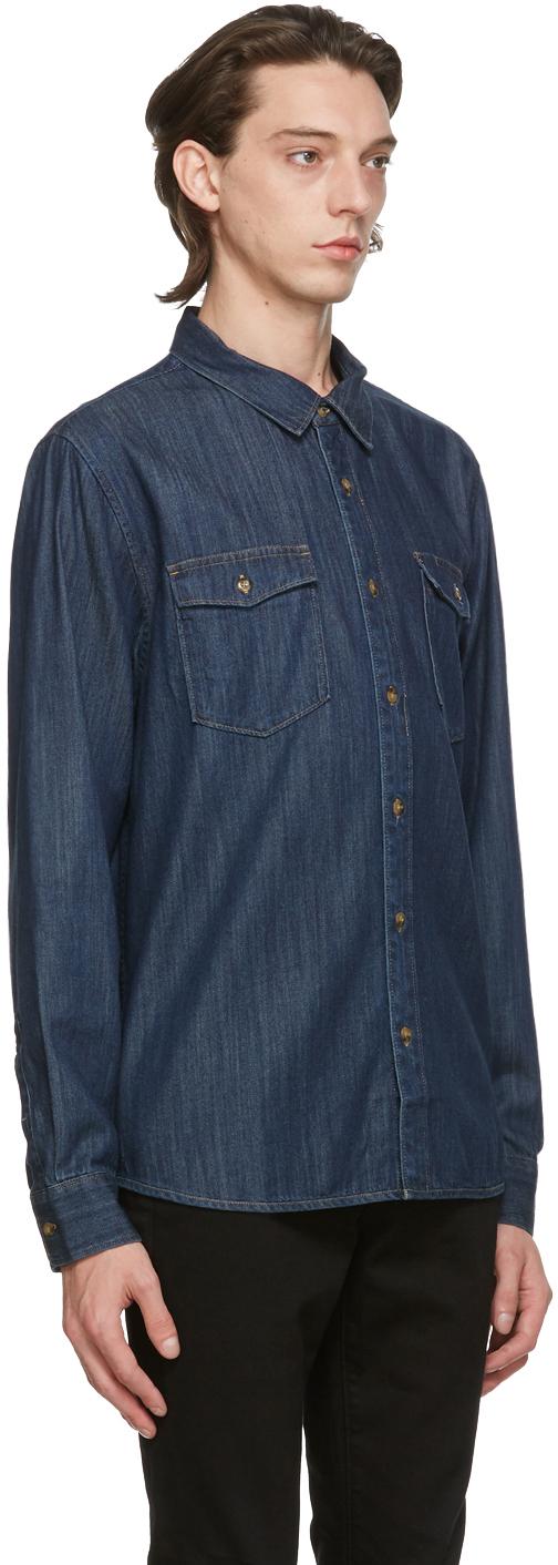 Frame デニム Double Pocket シャツ