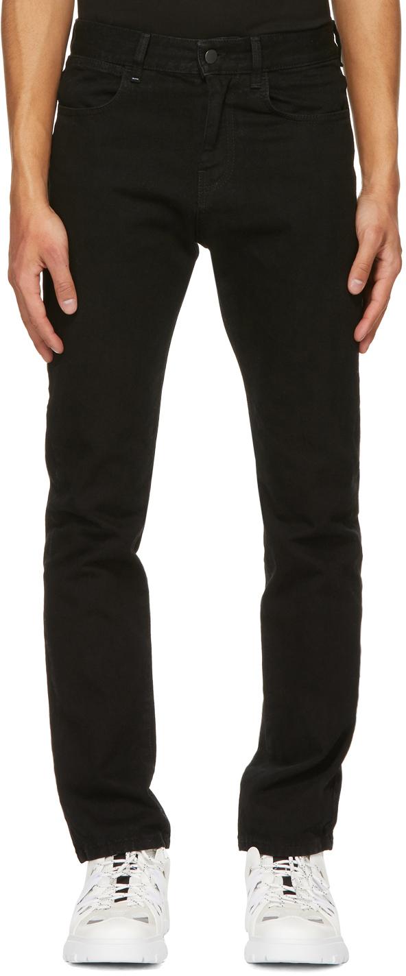 Black Slim-Fit Jeans