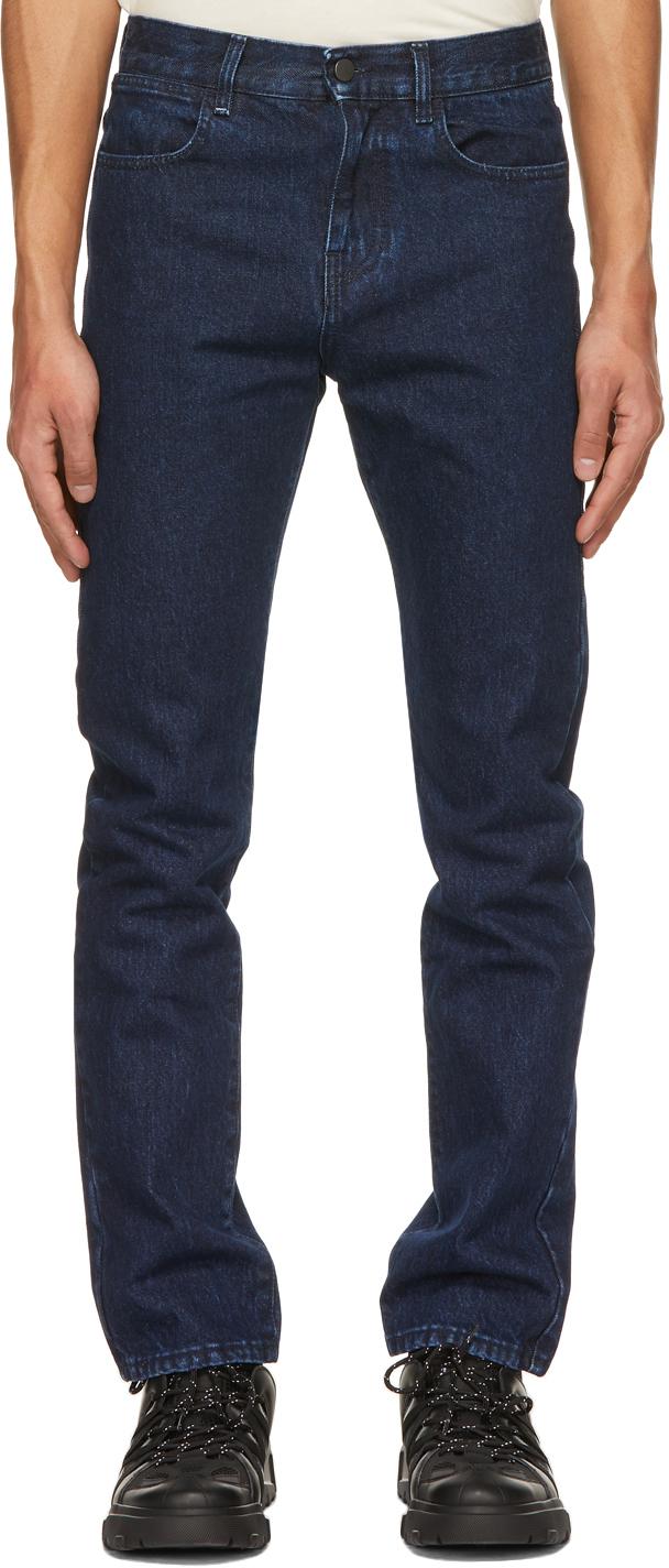 MCQ 蓝色 No.0 系列修身牛仔裤