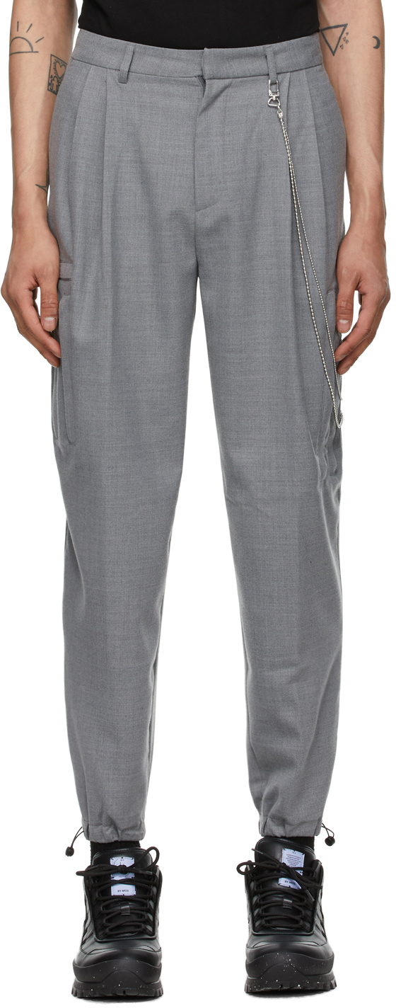 Grey Multipocket Trousers