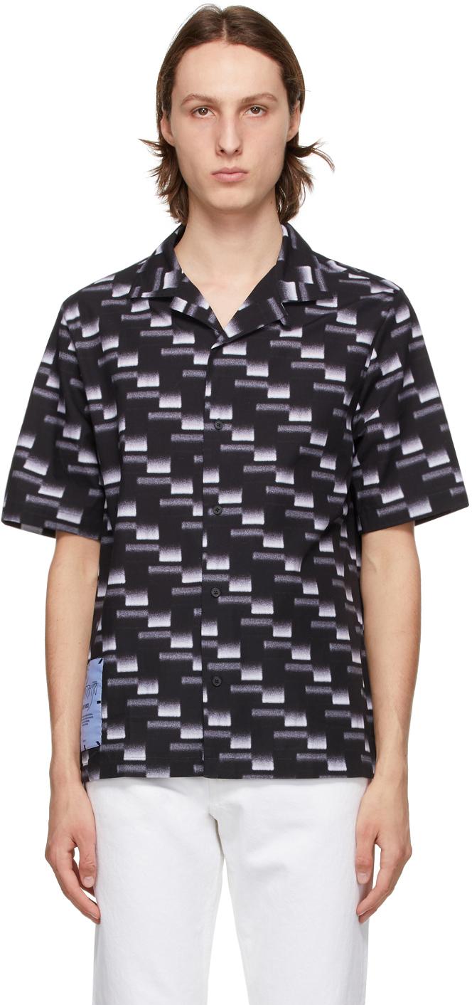 Black Yoke Casual Shirt
