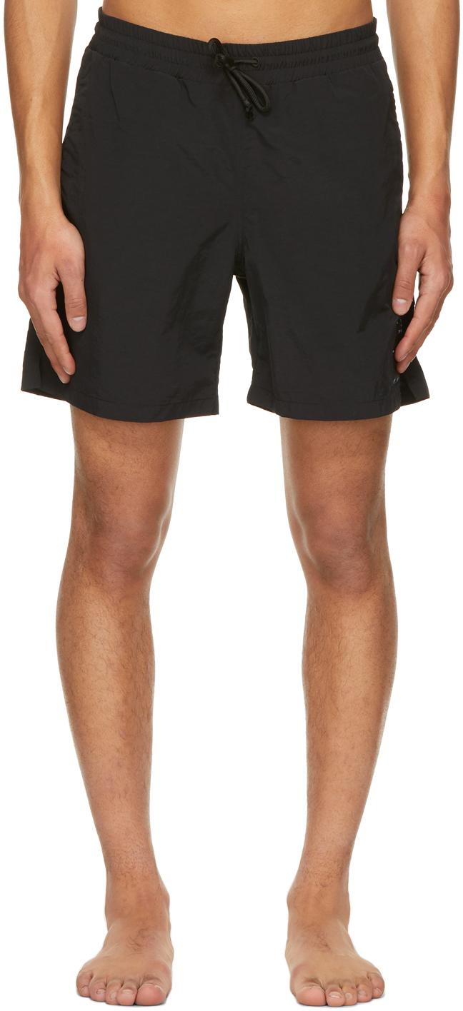 Black Get Wet Swim Shorts
