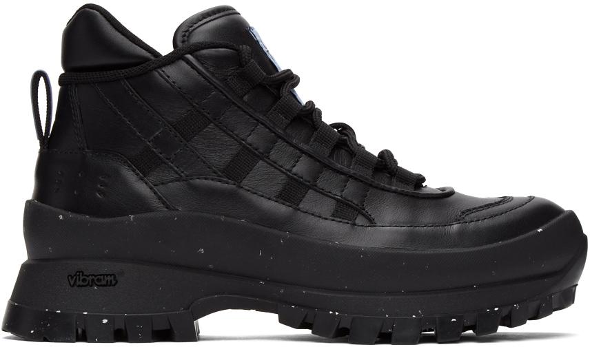 Black FA-5 Hiking Boots