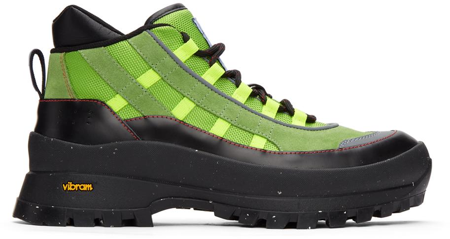 MCQ 绿色 Fantasma 系列 FA-5 Hiking 踝靴