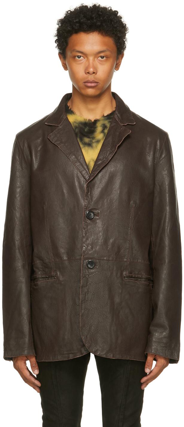 Brown Leather Anima Jacket