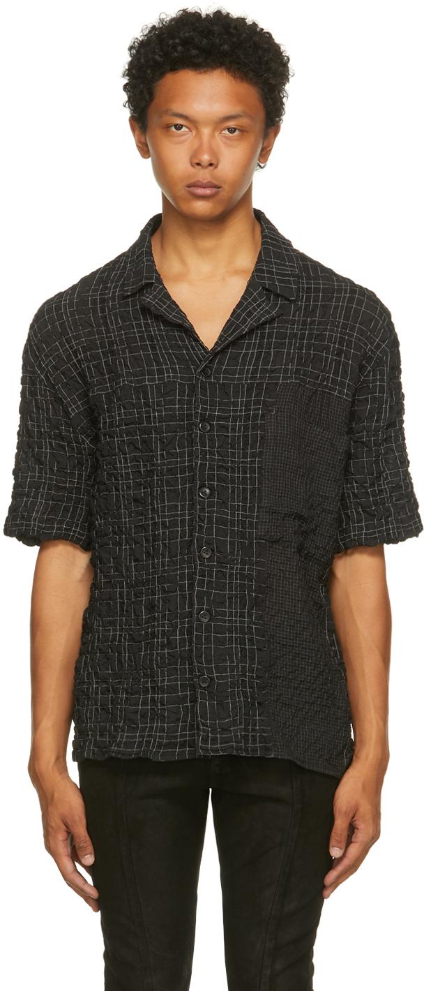 Black Check Klemperer Short Sleeve Shirt