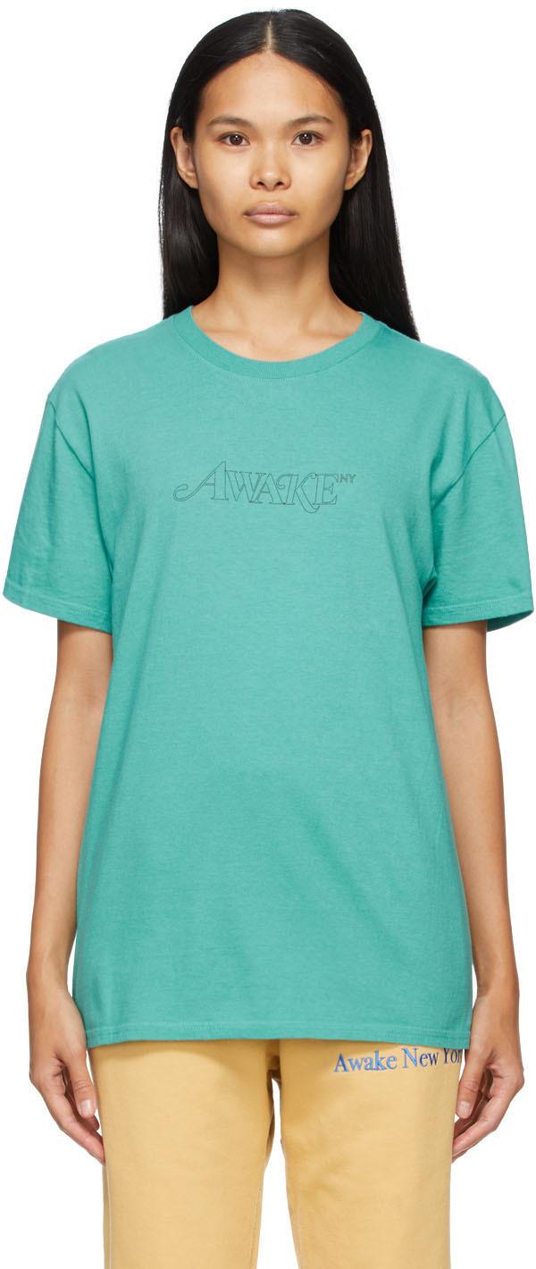 Blue Classic Outline Logo T-shirt
