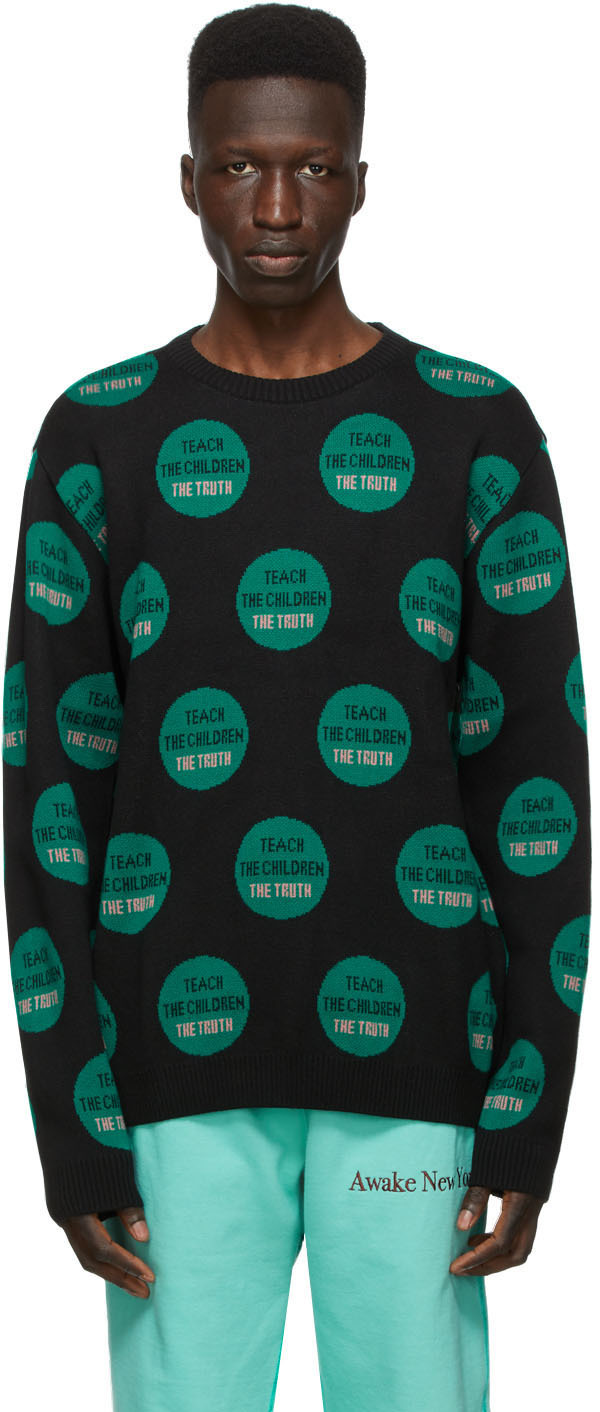 Black 'Truth' Sweater