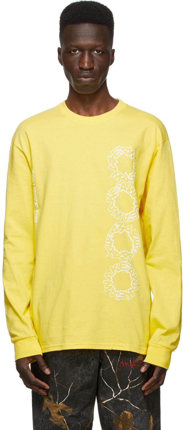 Yellow Ceremony Long Sleeve T-Shirt