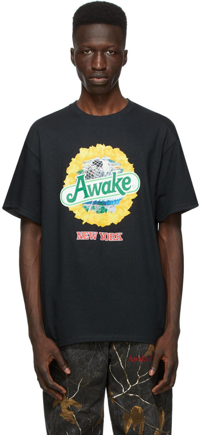 Black Strawberry Kiwi T-Shirt