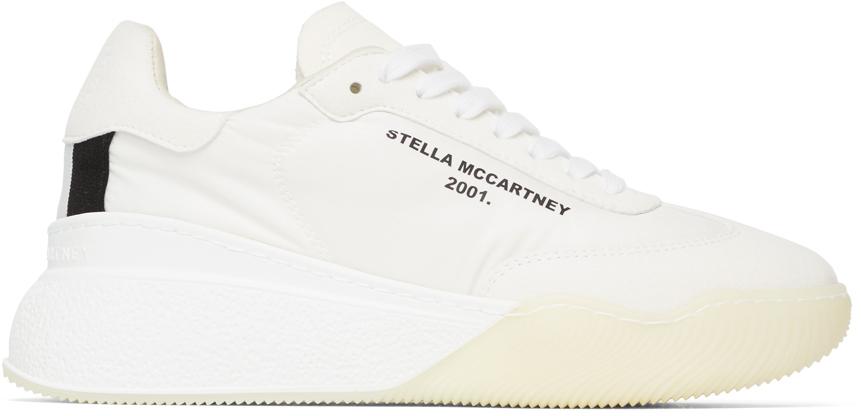 Stella McCartney ホワイト ランナー Loop スニーカー