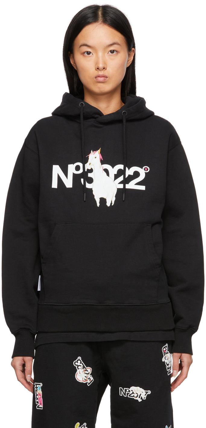 SSENSE Exclusive Black 'No3022' Hoodie
