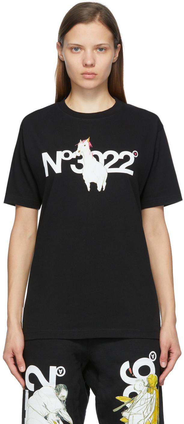 SSENSE Exclusive Black 'N.3022' T-Shirt