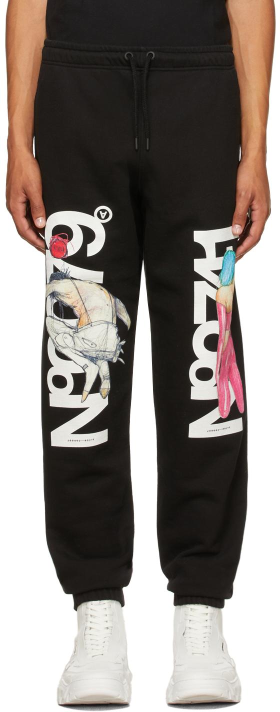 Black 'No0079' & 'No2741' Sweatpants