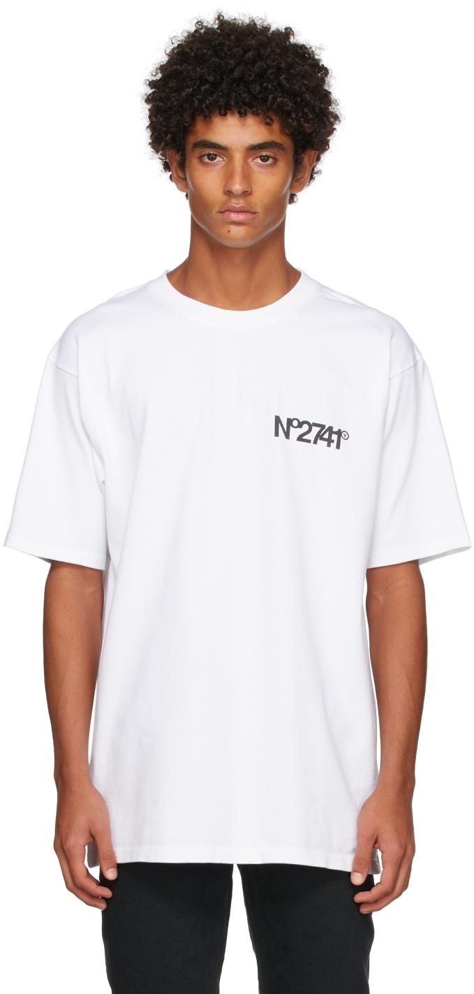 White 'No2741' T-Shirt