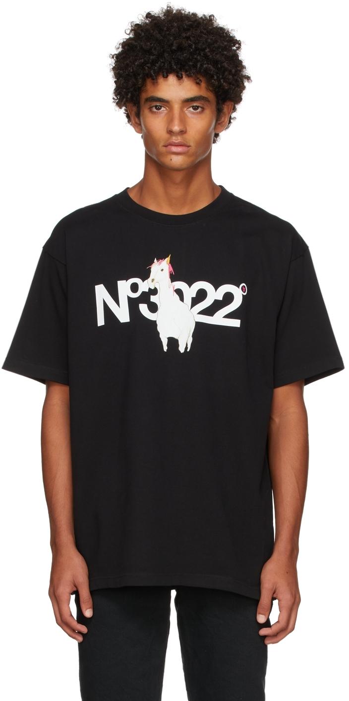SSENSE Exclusive Black 'No3022' T-Shirt