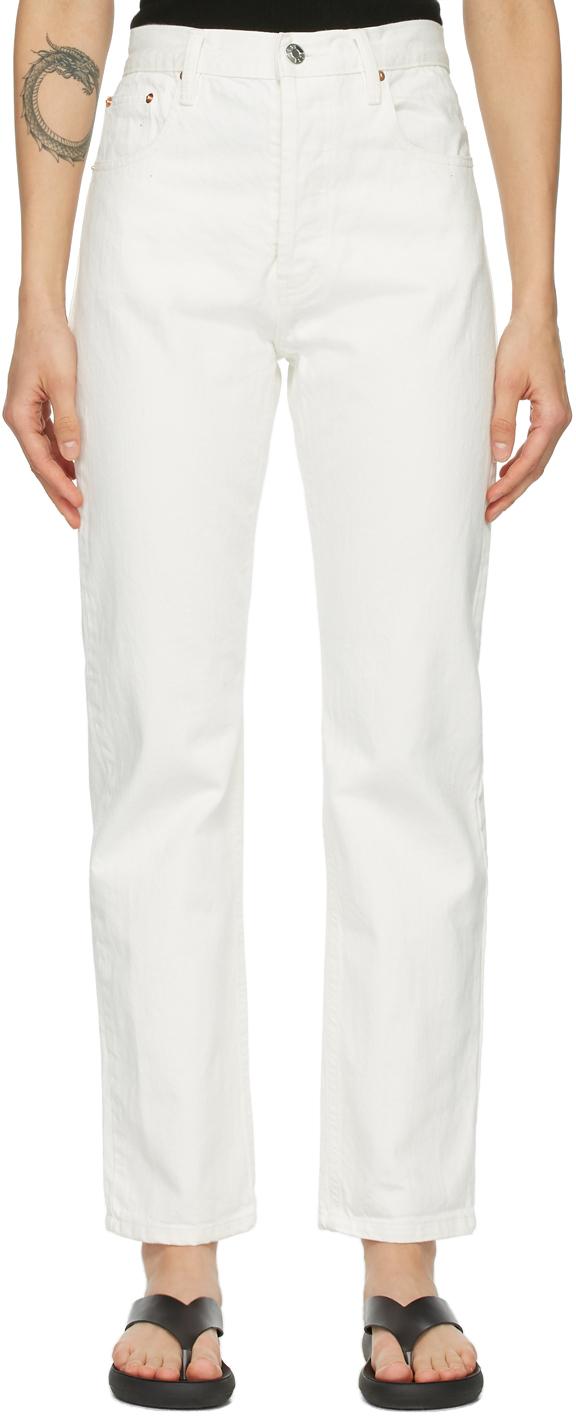 Off-White Denim Rigid Jeans