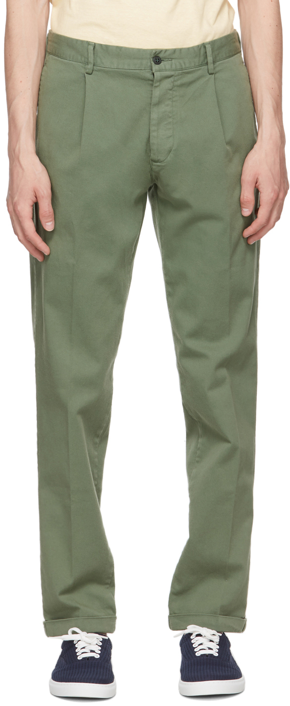 Green Aantioco Trousers