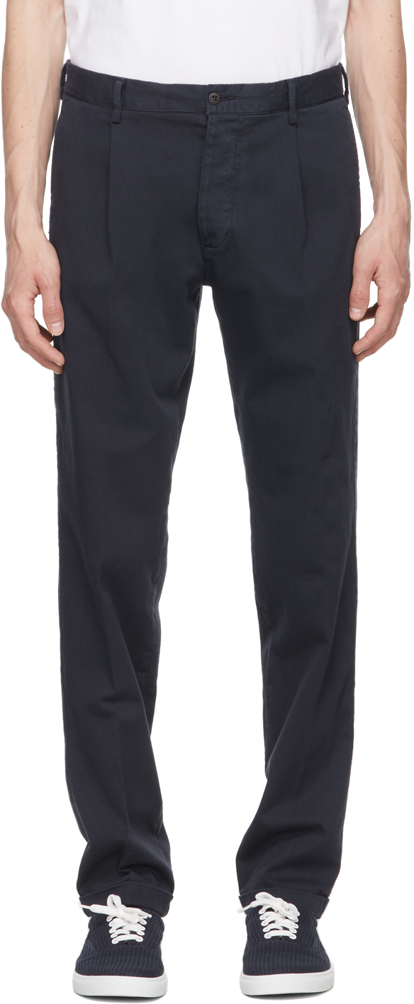 Navy Aantioco Trousers