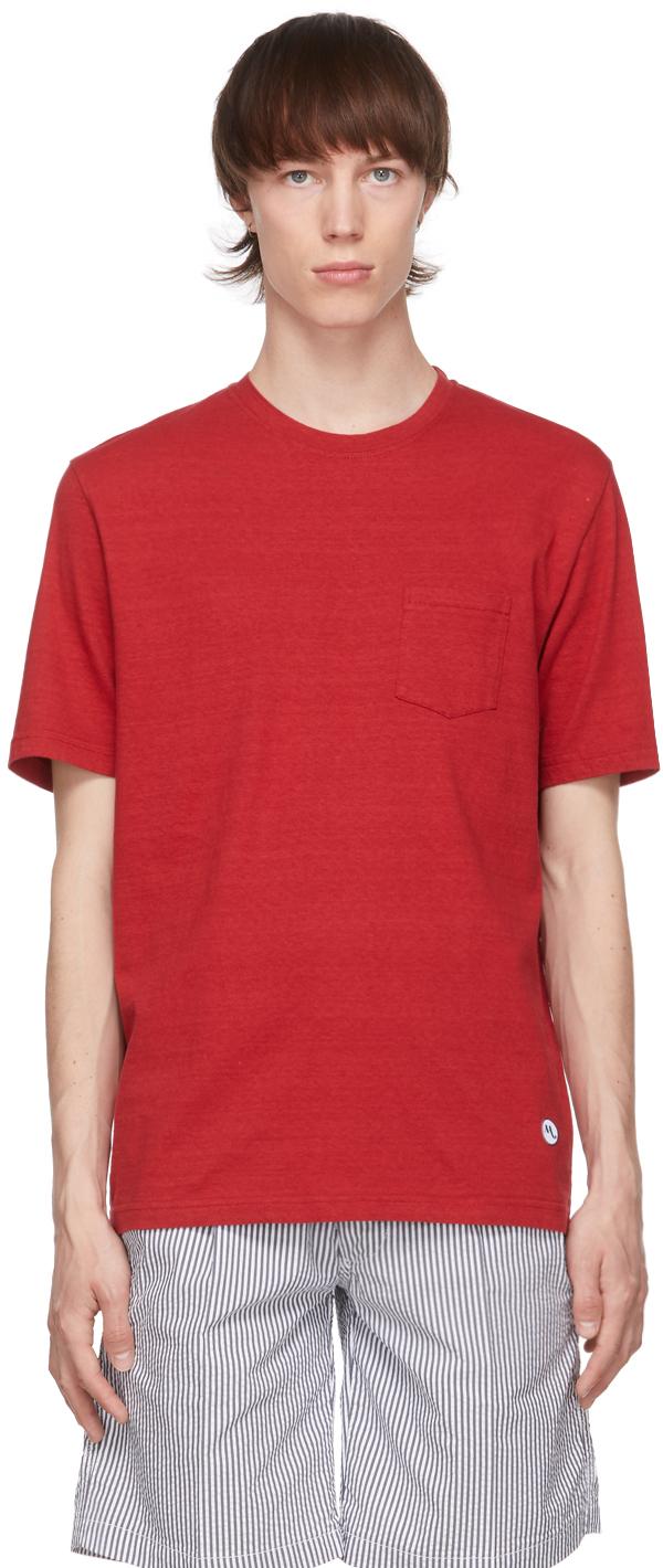 Red Aaktion Pocket T-Shirt