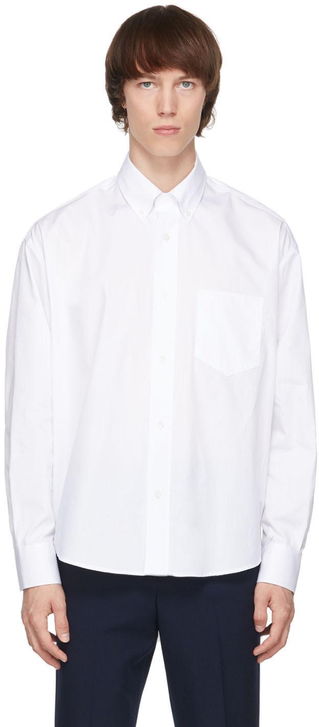 White Ami de Cœur Boxy Shirt